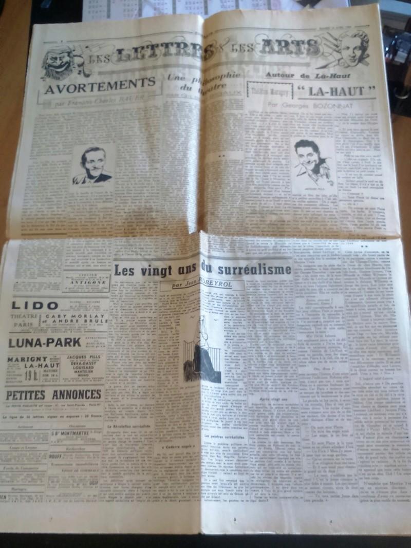 """Journaux et affiche  """"Combats"""" Milice française Dsc_0328"""