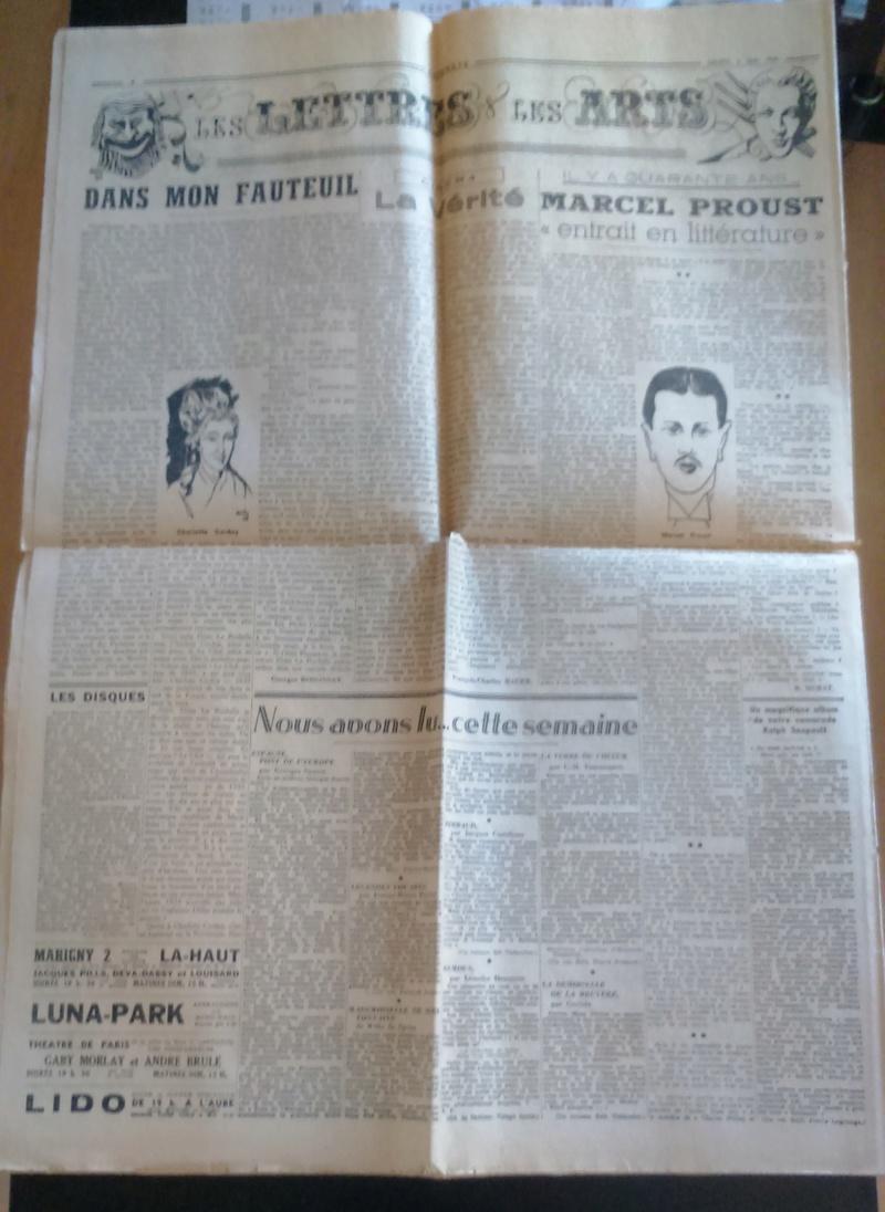 """Journaux et affiche  """"Combats"""" Milice française Dsc_0332"""