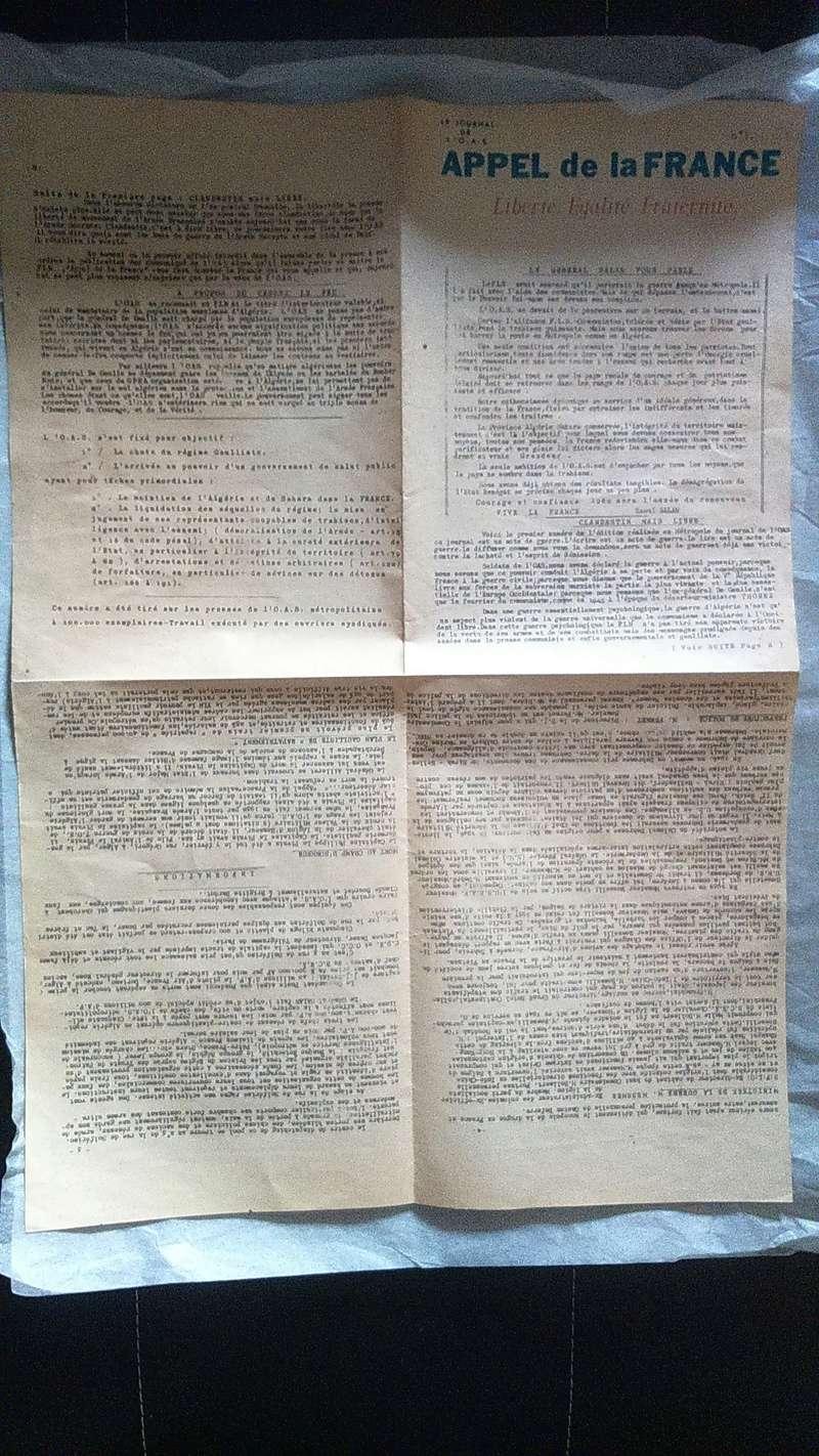 Journal Appel de la France (O.A.S) Dsc_0341