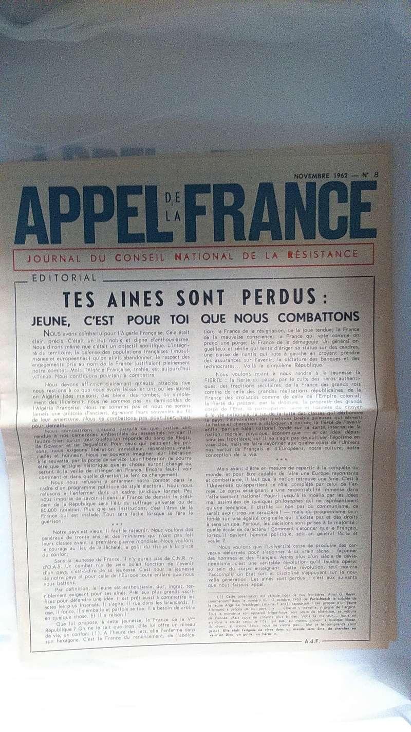 Journal Appel de la France (O.A.S) Dsc_0343
