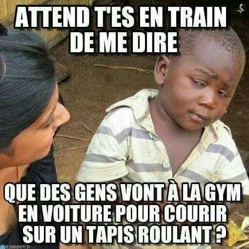 Les Français font de moins en moins de sport. Gym210
