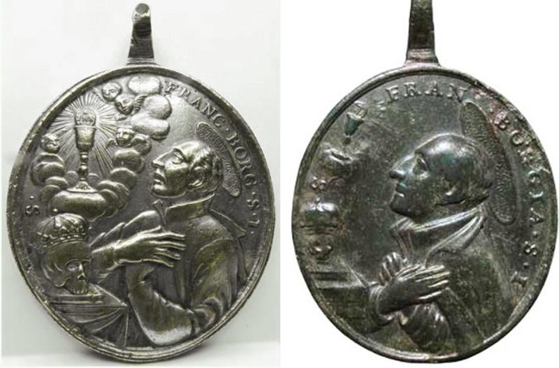 Identification médaille XVIII - Borgia? Borgia10