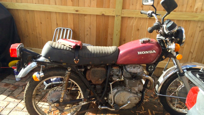 1974 CL360 Scrambler renaissance  Screen10