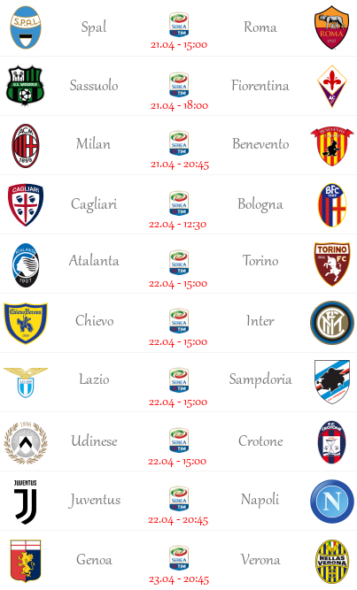 [PRONOSTICI] 34^ Giornata di Serie A + Semifinali FA Cup! 00111