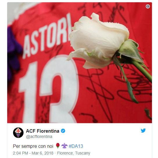 [RIP] Davide Astori | Il Capitano della Fiorentina muore a 31 anni. Da10