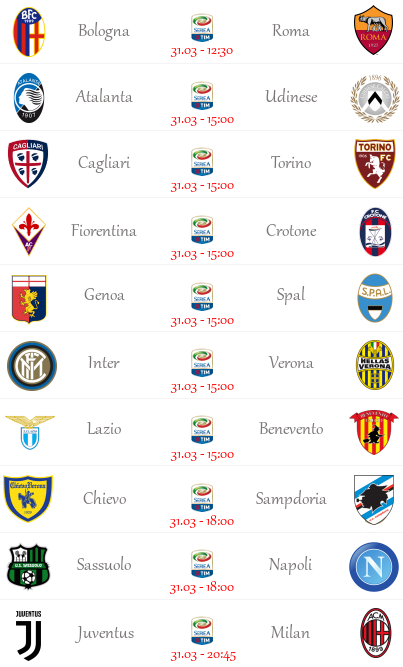 [PRONOSTICI] 30^ Giornata di Serie A + Altre Partite! - Pagina 2 Seriea25
