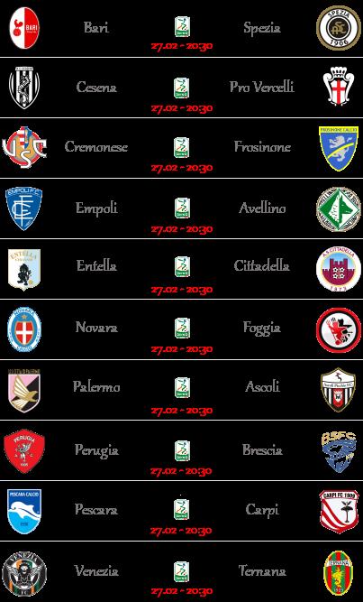 [PRONOSTICI] Tim Cup - Ritorno Semifinali + Serie B! - Pagina 2 Serieb16