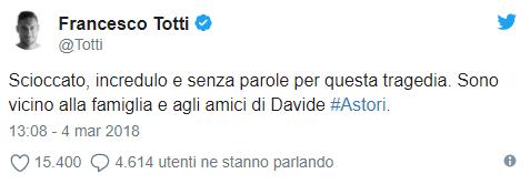 [RIP] Davide Astori | Il Capitano della Fiorentina muore a 31 anni. Totti11