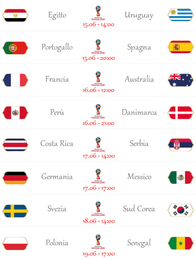 [PRONOSTICI] FIFA World Cup 2018 | Group Stage 1 - Pagina 2 Wc110