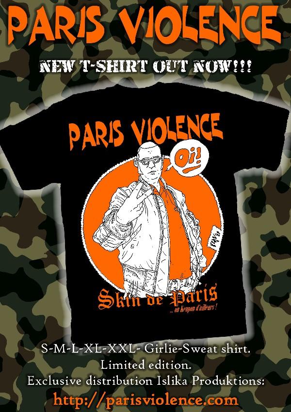 T-shirt Skin de Paris Skin_d10