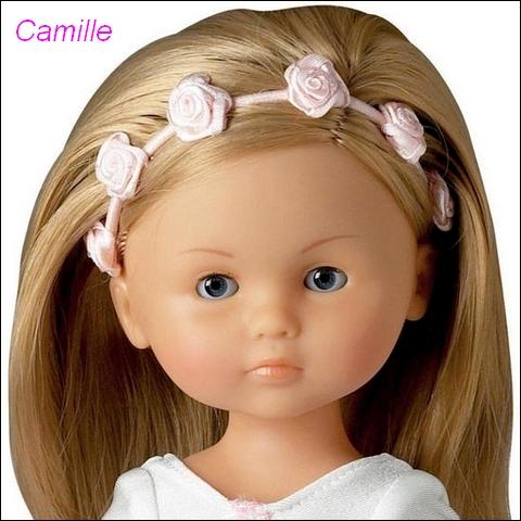 """Présentation et liste des poupées """"Chérie"""" de Corolle Camill10"""