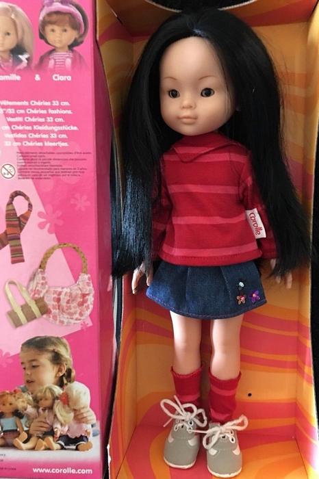 """Présentation et liste des poupées """"Chérie"""" de Corolle Candic12"""
