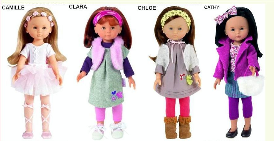 """Présentation et liste des poupées """"Chérie"""" de Corolle Captur10"""