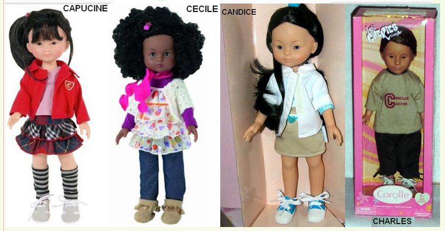 """Présentation et liste des poupées """"Chérie"""" de Corolle Captur11"""