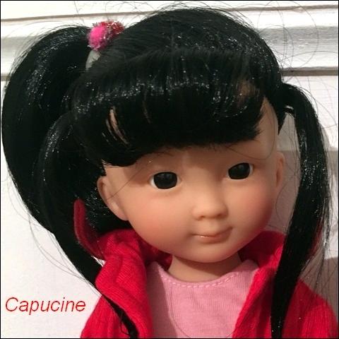 """Présentation et liste des poupées """"Chérie"""" de Corolle Capuci10"""