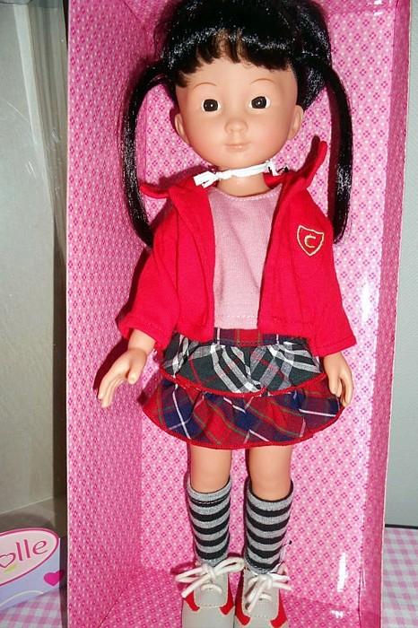 """Présentation et liste des poupées """"Chérie"""" de Corolle Capuci15"""