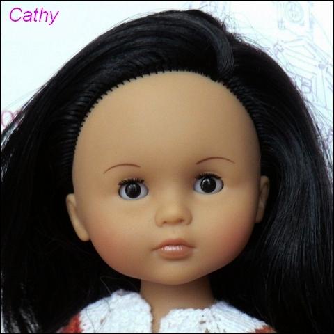 """Présentation et liste des poupées """"Chérie"""" de Corolle Cathy_11"""
