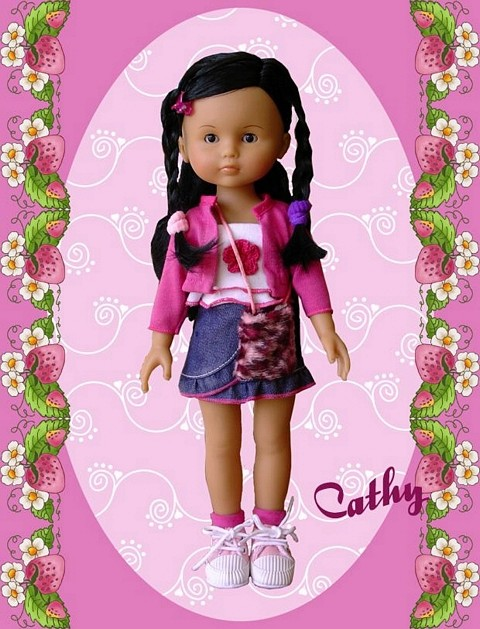 """Présentation et liste des poupées """"Chérie"""" de Corolle Cathy_14"""