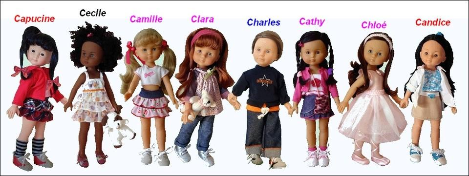 """Présentation et liste des poupées """"Chérie"""" de Corolle Coroll11"""