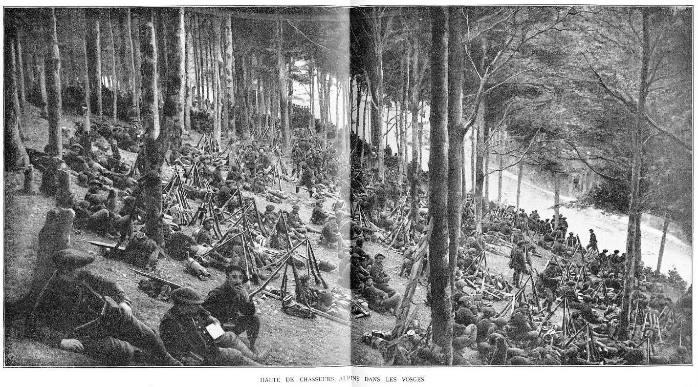 Photos inédites de la grande guerre. 3_halt10