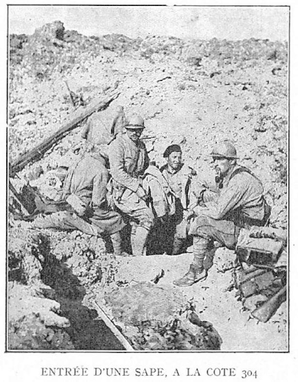 Photos inédites de la grande guerre. 4_sape10