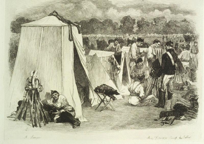 L'Historique du 14e Bataillon de Chasseurs. 1854 - 1962 Camp_s10
