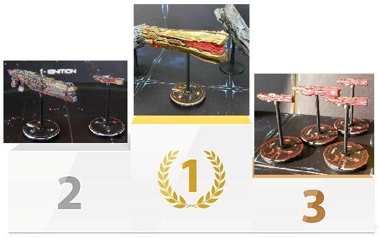 1er concours de peinture et de modélisme - 1st painting and modeling contest - Votes Podium11