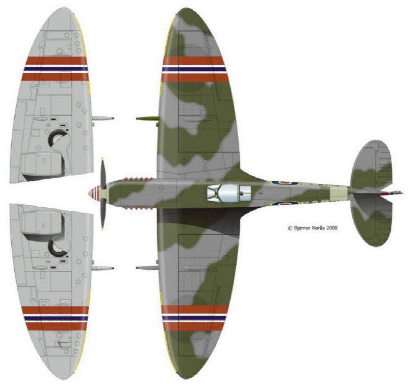 [Frog] Spitfire Mk VIII 19_spi10