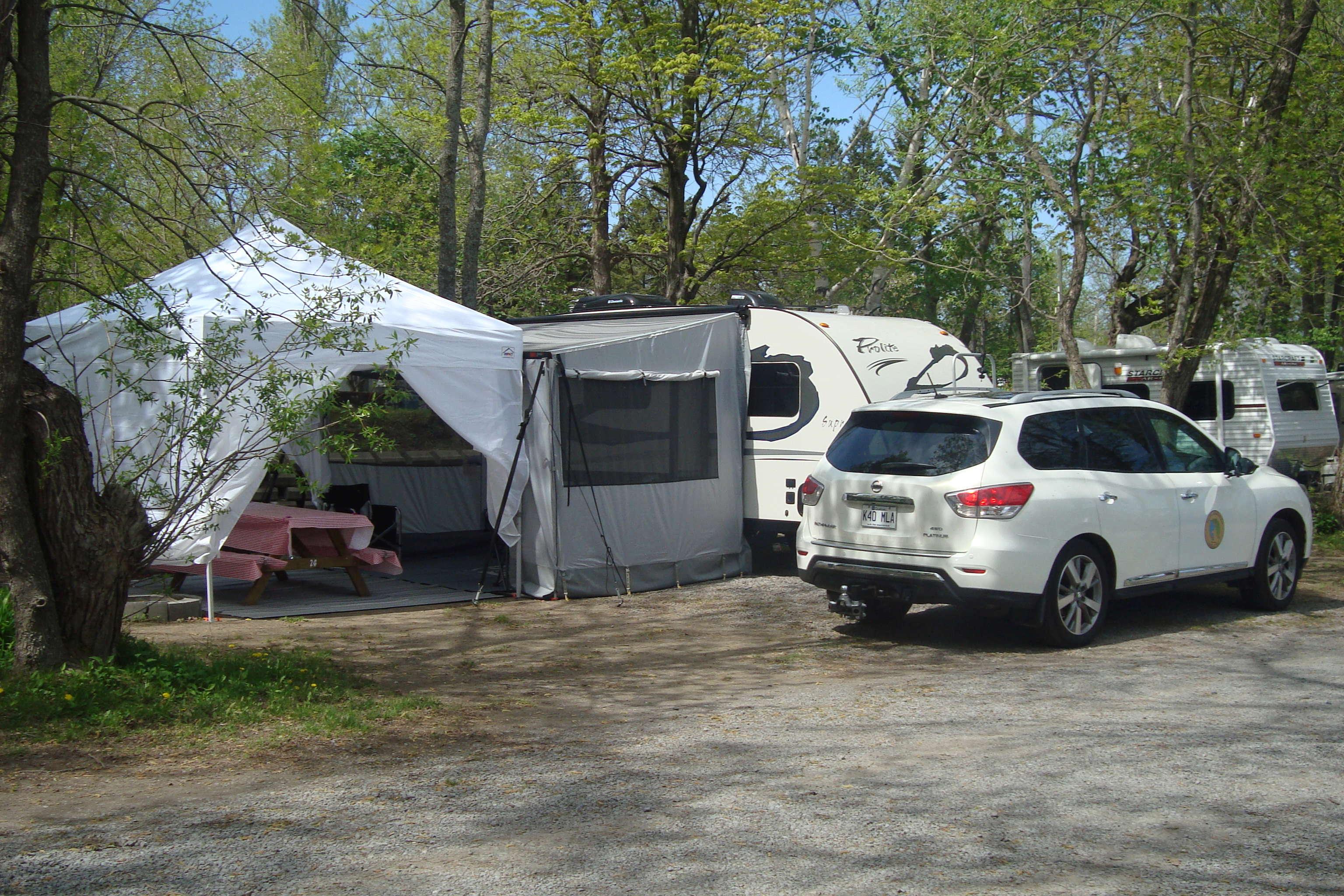 Camping de l'Île d'Orléans 2018 Dsc01014