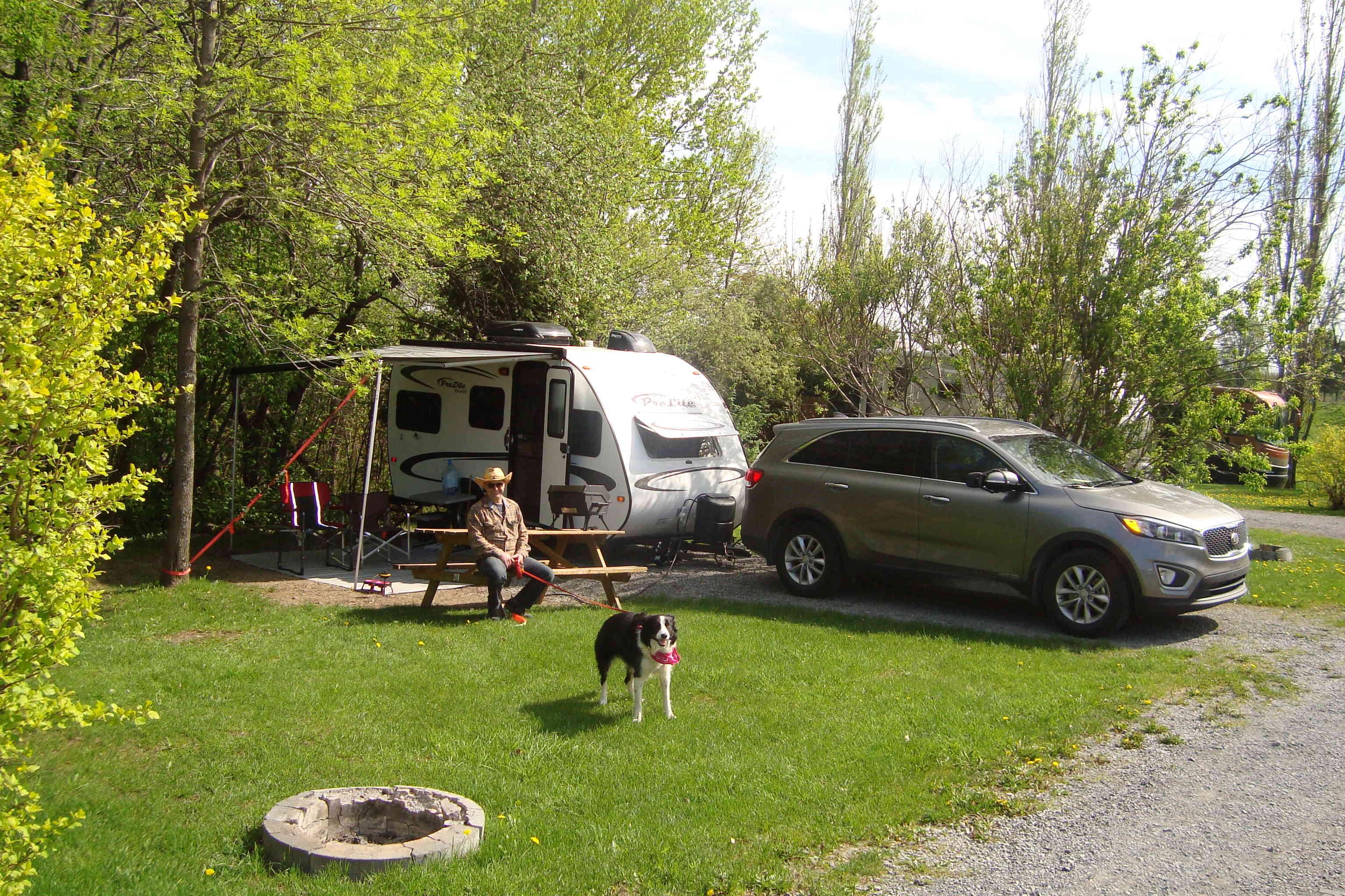 Camping de l'Île d'Orléans 2018 Dsc01016