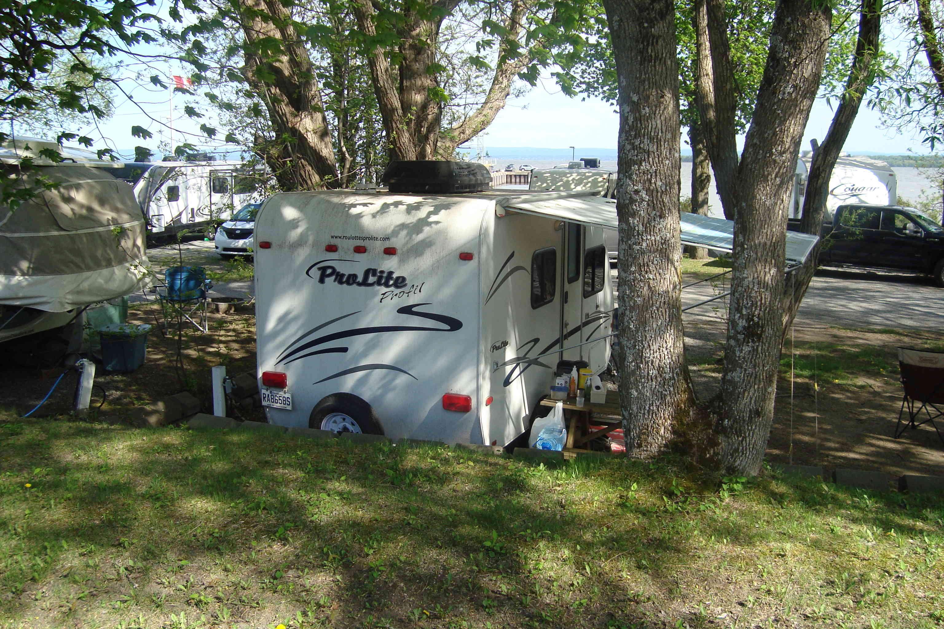 Camping de l'Île d'Orléans 2018 Dsc01017