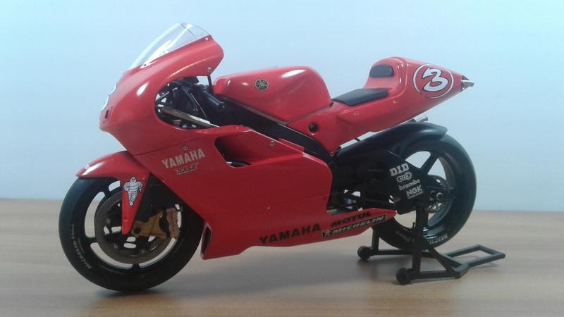 Tamiya Factory Yamaha YZR 500 2001 20180411
