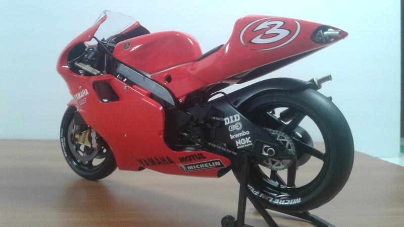 Tamiya Factory Yamaha YZR 500 2001 20180414