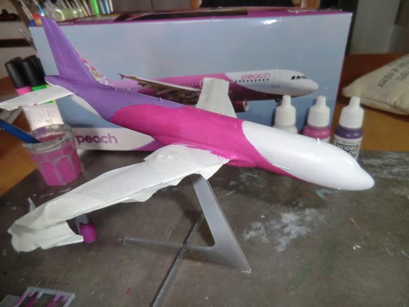 AIRBUS A-320 1/200  Hasegawa - Page 2 Airbus45