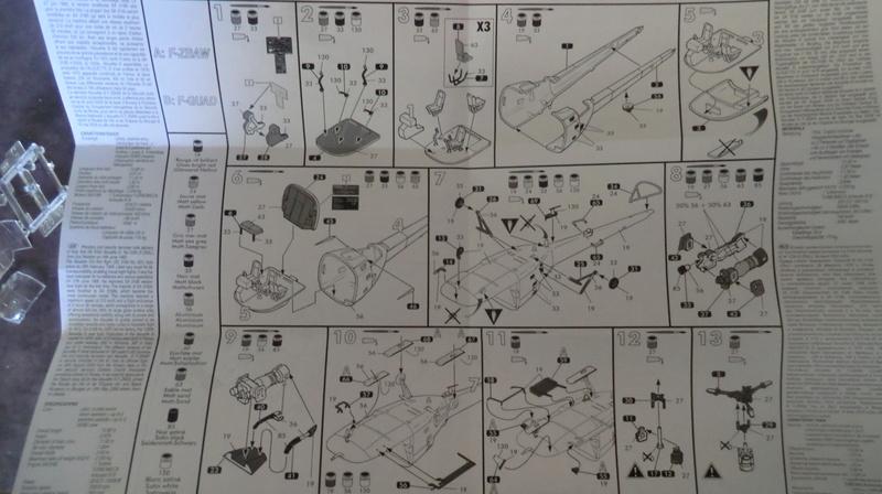 montage Alouette III sécurité civile Heller 1/72 Alouet15