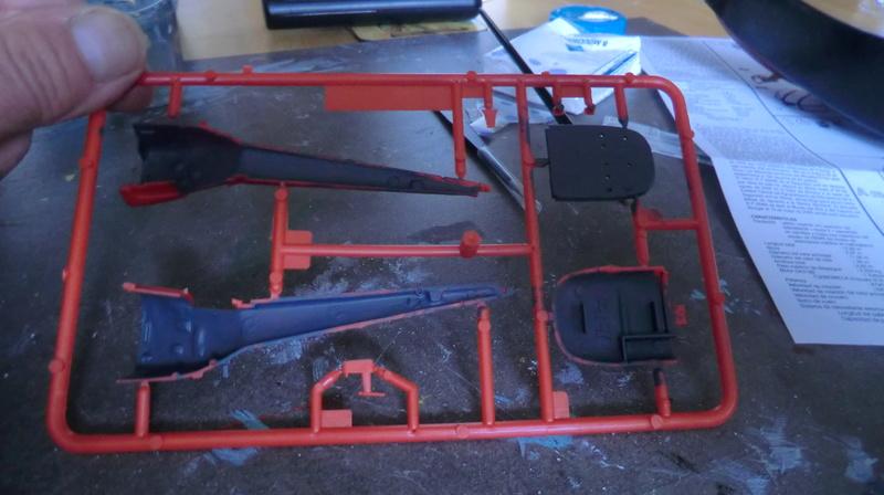 montage Alouette III sécurité civile Heller 1/72 Alouet24