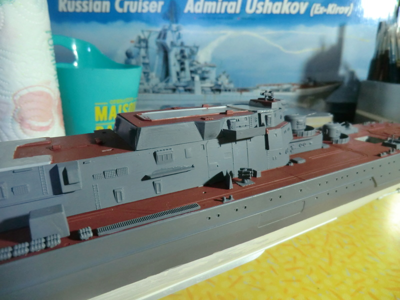 Croiseur Russe Admiral Ushakov 1/350 - Page 3 Crois107
