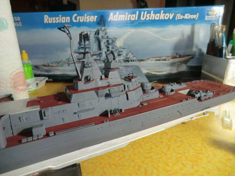 Croiseur Russe Admiral Ushakov 1/350 - Page 3 Crois108