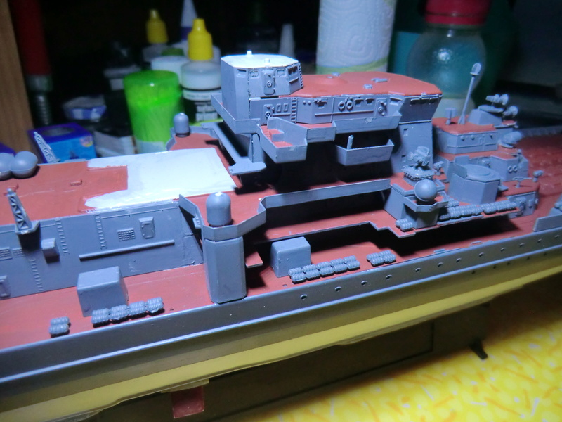 Croiseur Russe Admiral Ushakov 1/350 - Page 3 Crois113