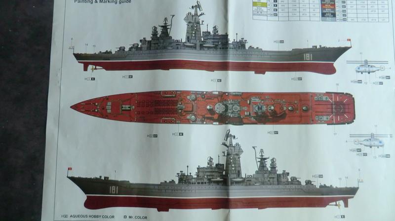 Croiseur Russe Admiral Ushakov 1/350 Croise11