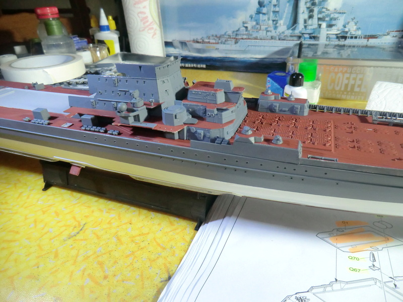Croiseur Russe Admiral Ushakov 1/350 - Page 3 Croise96