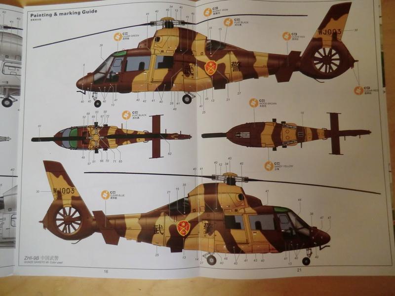 ZHI-9B ou variante du Dauphin II 1/48 Kitty Hawk Dauphi38