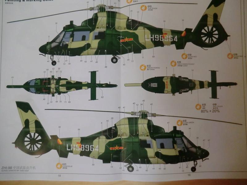 ZHI-9B ou variante du Dauphin II 1/48 Kitty Hawk Dauphi41