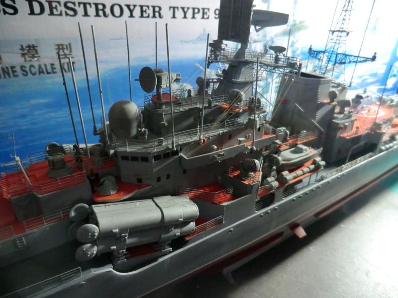 destroyer Sovremenny type 956,Trumpéter 1/200 - Page 15 Sovre519