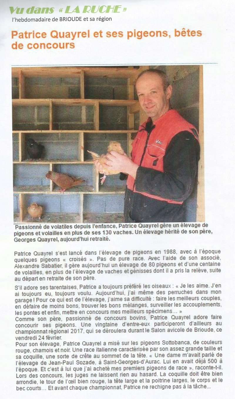 Chez PATRICE QUAYREL 1610