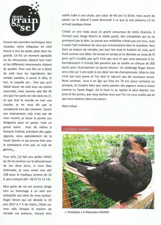 MON GRAIN DE SEL  ( PART ALAIN URBAN ) 2210