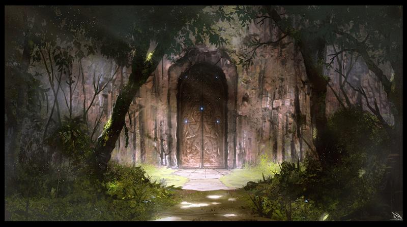 Temple Zhire : The Hidden Door by Rogierb.jpg