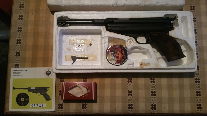 Pistolet Feinwerkbau Modèle 65 / 4.5 20171013