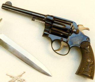 Plan de revolver Colt New Service 92_esp11