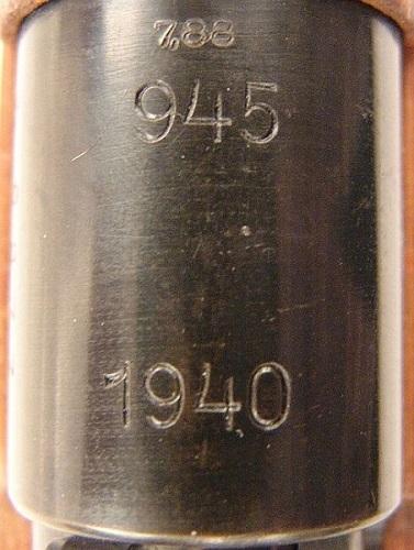cotes mauser 33/40 G331011